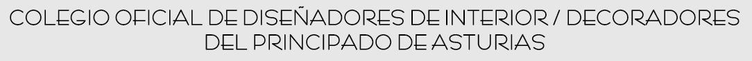 Colegio oficial de dise adores de interior decoradores del principado de asturias inicio - Disenadores de interior ...